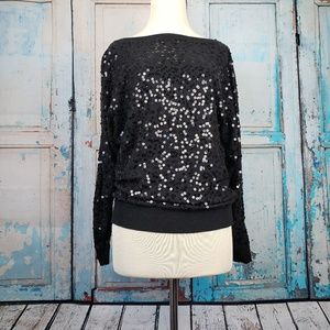 INC Sequins sweater.. perfect for a night out!